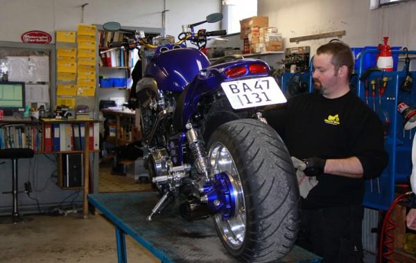Hvorfor vinteropstalde sin motorcykel?